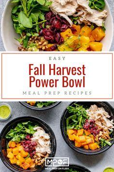 Fall Harvest Power Salad - Meal Prep on Fleek™