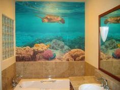 Walls Mural Bathroom Decorating Ideas For Walls Home