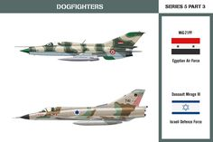 Dogfighters Series 5 Part 6: Mirage vs Harrier A Dassault Mirage III of the Argentine Air Force and a BAe Harrier GR.3 of the Royal Air Force