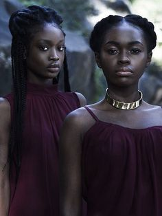The purple, which looks so beautiful on dark skin, is the color of royalty. Black Girls Rock, Black Girl Magic, Skin Girl, Dark Skin Beauty, Black Beauty, Natural Beauty, My Black Is Beautiful, Beautiful Models, Beautiful Ladies