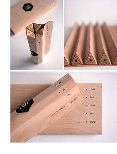 maude bussieres's pencil packaging