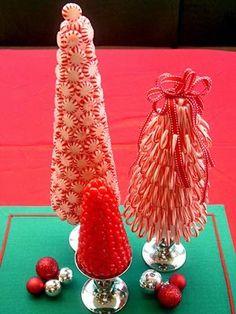 Peppermint Candy Christmas Tree DIY Decor