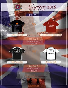 Foto: Tomorrow start the firts 22 goal tournament in UK , 2016 #CartierQueenscup!!!! #HurlighamPoloAssotiation +Guards Polo Club Two games!!!!! Follows all matches, chukker to chukker with +ChukkerApp... Totally free!!!! www.chukkerapp.com #ukpolo #cartier #highgoals #pologames #polomatch #poloteams #poloplayers #polohorses #guardspc #chukkerapp #welovepolo