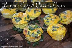 bacon egg and cheese cups