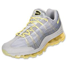 best cheap 2fd18 e52fa Women s Nike Air Max 95-360 DYN Strata Grey Electric Yellow Nike Shoes  Online