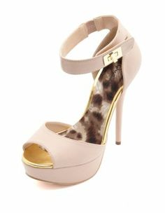 23. turn-lock ankle-strap pump $35. You need a strapped heel.  It draws in the eye and adds some spice to your outfit