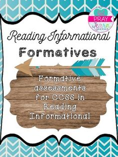 This product includes **NINE** formative assessments that will help you informally assess your students knowledge of the Common Core standards RI.5.1-5.9. All keys are included.This resource is a great way to quickly assess your students' understanding of a given standard or can also be used for work with guided reading groups.