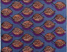 Tessuti africani, 1,83 metri, WAX timbrato  di ModaThai su DaWanda.com