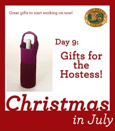 Christmas in July Day 9: Hostess Gifts!