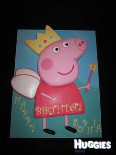 ? Olivia's birthday cake?