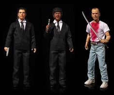 Bring home some of the coolest characters to ever grace the big screen by purchasing these Pulp Fiction cursing action figures. They're programmed with over 10 iconic phrases and feature 14 points of articulation so you recreate your favorite scenes.