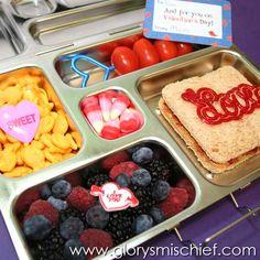 Valentines Day School Lunch