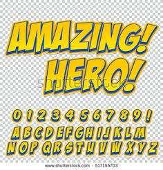 Letters Numbers And Figures For Kids Il Rations Websites Comics Banners