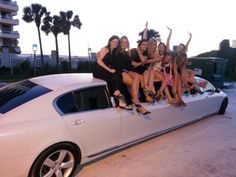 Get a limo for your bachelorette or bachelor party!