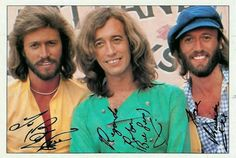 Signed Bee Gees