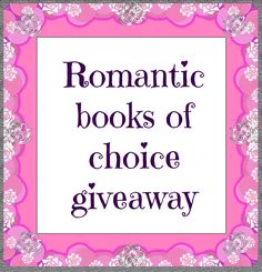 Enter this giveaway for a chance to win romantic books of your choice worth $30. Good luck!         a Rafflecopter giveaway      T...