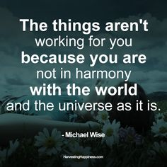 Great quote by our previous guest, Michael Wise!