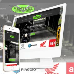"The New Website for Venture Motorcycles in Totton is now ""Live"" at http://venturemotorcycles.co.uk/"
