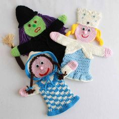 Storybook Puppets: Wizard of Oz Set 1 Pattern