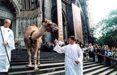 Blessing of the animals.