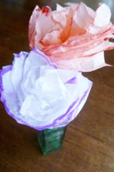 Fourth Grade Paper & Glue Crafts Activities: How to Make a Paper Flower