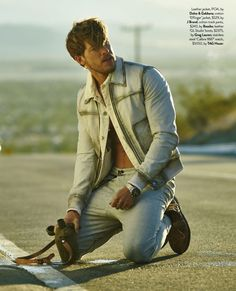 Hit the Floor actor Adam Senn brushes up on his modeling skills as he stars in an editorial for the February 2016 issue of GQ Australia. Heading out to the desert in spring neutrals, Adam is styled by David Bonney. Embracing designer fashions from an enviable selection of brands that includes Tom Ford, Bally and …