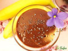 Budincă din Banană și Cacao, la Blender