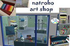 Mod The Sims - Art Shop
