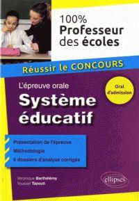 L'épreuve orale système éducatif / Véronique Barthélémy, Youssef Tazouti. http://buweb.univ-orleans.fr/ipac20/ipac.jsp?session=1448L6252OC28.746&menu=search&aspect=subtab66&npp=10&ipp=25&spp=20&profile=scd&ri=3&source=~%21la_source&index=.IN&term=9782340007963&x=0&y=0&aspect=subtab66