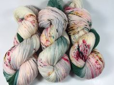Hand Dyed Yarn Ultra Soft Merino Superwash I'll by HauteKnitYarn