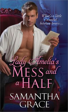 Paul Marron at Lady Amelia's Mess and a Half by Samantha Grace