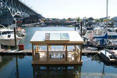 Floating Platform, small, honeycomb, business, event, http://yook3.com