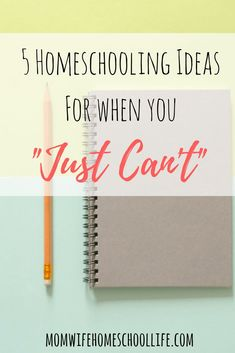 Homeschooling Ideas For When you don't feel like homeschool #homeschool #ideas #homeschooltips
