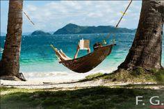 Rien ne vaut la lecture d'issyparis à l'ombre des cocotiers de Tahiti