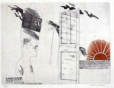 'The Start of the Spending Spree', from A Rakes Progress by David Hockney