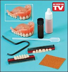 repair it denture repair kit instructions