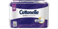 36 Family Sized Rolls of Cottonelle Ultra ComfortCare Toilet Paper (Free Shipping) $14.13 (amazon.com)