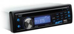 637UASingle-DIN CD/MP3 AM/FM Receiver USB, AUX MSRP - $109