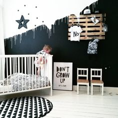 I'm off to Club Bed. Featuring DJ Pillow and MC Blanky. Baby Room Design, Baby Room Decor, Home Decor Bedroom, Kids Bedroom, Nursery Decor, Diy Home Decor, Bedroom Ideas, Kids Room Paint, Cool Rooms