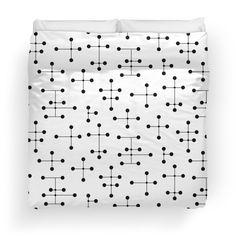 Eames era dots bedding