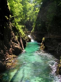 Vintgar Gorge, Slovenia. If I went there, I probably would not come back.