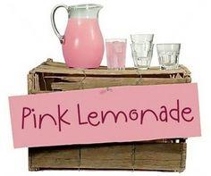 pink lemonade ::: by Ronna Penner Pink Lemonade, Toy Chest, Luxury Fashion, The Originals, Fonts, Drink, Design, Home Decor, Designer Fonts