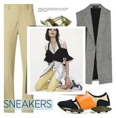 """""""Dad Sneakers"""" by grrr8style ❤ liked on Polyvore featuring Fendi, Isabel Marant, Theory, Marni, Sebastian Professional and dadsneakers"""
