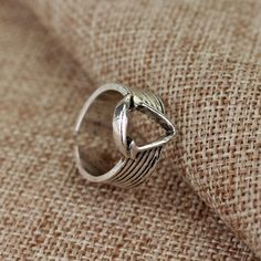 Game Assassins Creed II Logo Ring for Man Size 8 Silver //Price: $12.00 & FREE Shipping //     #love