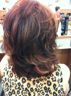 Beautiful highlights and lowlights I did!