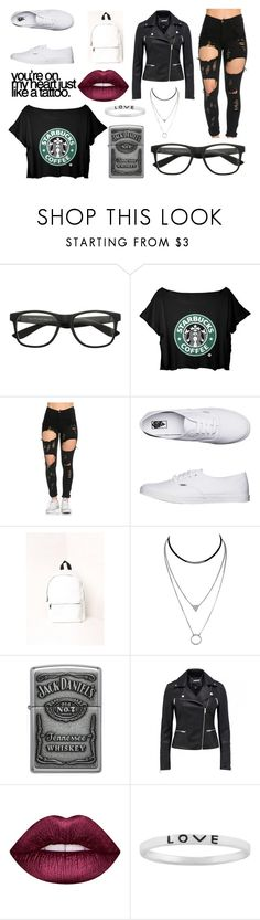 """""""Pretty Little Girl// Blink-182"""" by justanotherhawksfan on Polyvore featuring Vans, Missguided, Zippo, Lime Crime and Itsy Bitsy"""