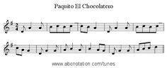 Resultado de imagen de paquito el chocolatero