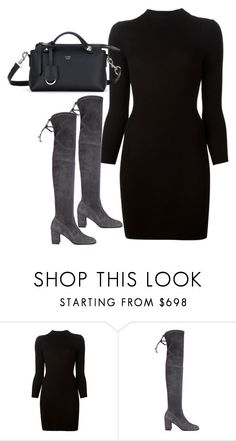 """""""Untitled#3964"""" by fashionnfacts ❤ liked on Polyvore featuring Maison Margiela, Jean-Michel Cazabat and Fendi"""