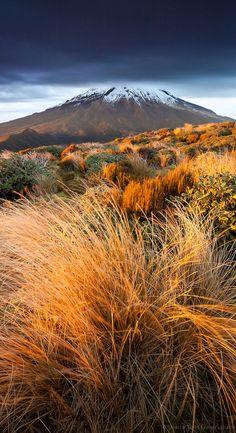 Mount Taranaki, North Island, New Zealand