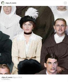 Olga Romanov in 1914.